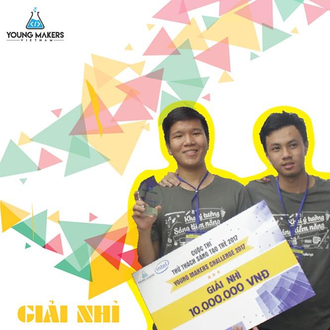 ĐH Duy Tân cố vấn giúp học sinh THPT đoạt giải nhì Thử thách sáng tạo trẻ Anh1_cexd