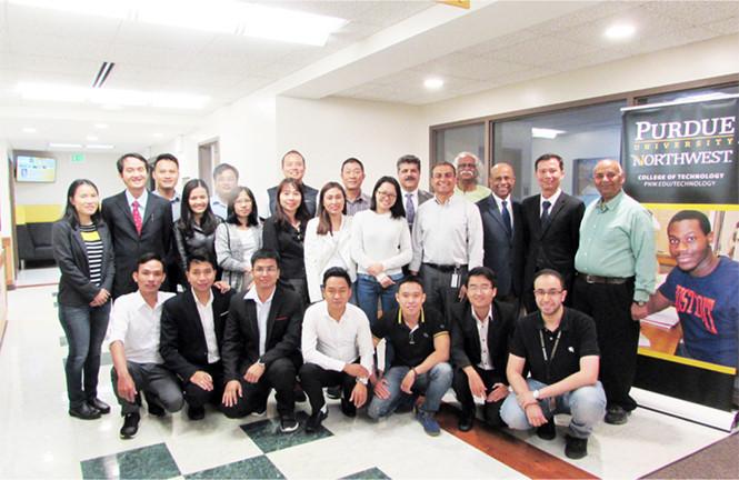 Duy Tân khởi động Chương trình Tiên tiến Điện-Điện tử, Cơ điện tử với ĐH Purdue Anh2_yymq