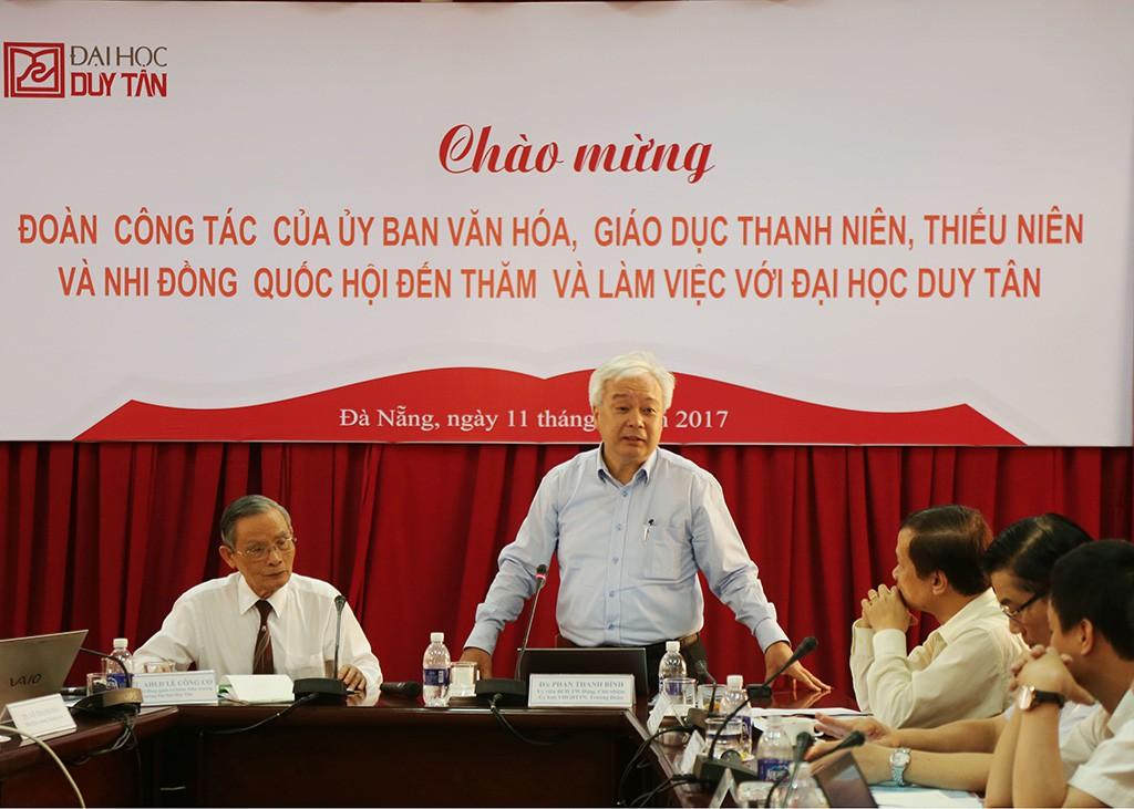 UB Văn hóa, Giáo dục, Thanh niên, Thiếu niên và Nhi đồng của Quốc hội thăm ĐH Duy Tân Ubvhgd-anhkembai1_BEML