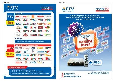 Đầu thu FTV-MobiTV: Xã hội hóa để người dân hưởng lợi To-roi
