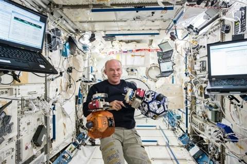 Jeff Williams - papy astronaute recordman US 1117232641