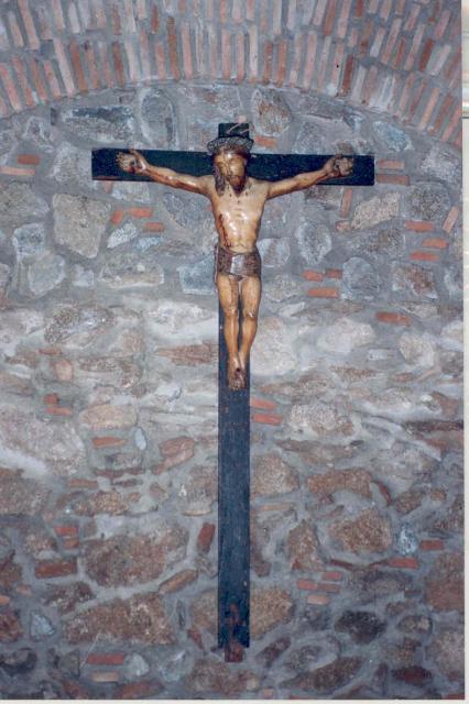Crucifijo Cristo de Zalamea . S-XVII - CC-070 - [Pec038/S-XVII]* 146241-zalamea-de-la-serena-cristo-de-zalamea-siglo-xvi
