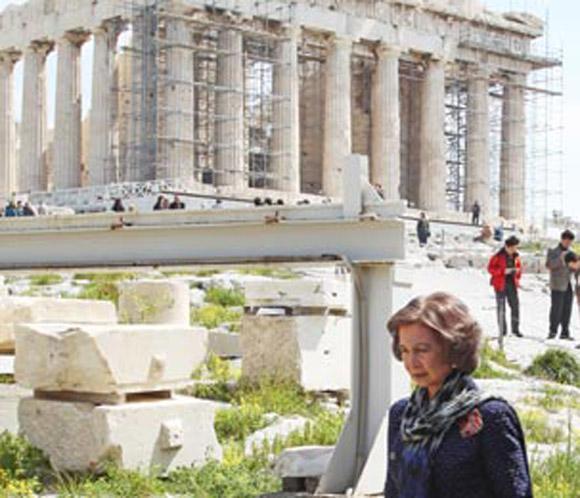 SOFÍA EN GRECIA Reina