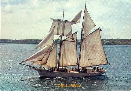 le bateau de Martin du 22 juillet trouvé par Martine Goelette_etoile