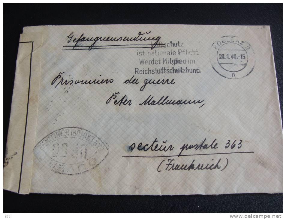 Prisonniers de guerre allemand 1939/40 en France. 764_001