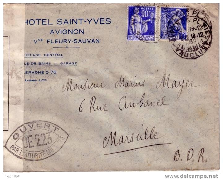 Les censures françaises de la 2° période (Armistice) 410_001