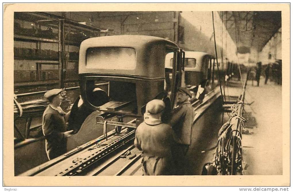 Cartes postales sur la fabrication des 201