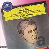 Berg - Oeuvres orchestrales B000001GWZ.01.MZZZZZZZ