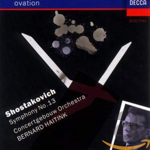 Chostakovitch discographie pour les symphonies B00000IP3H.01.LZZZZZZZ
