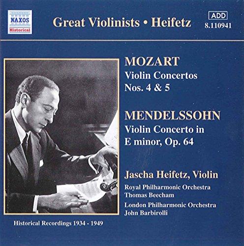 Mendelssohn: concertos (pour violon et ceux pour piano) B0000542H0.01.LZZZZZZZ