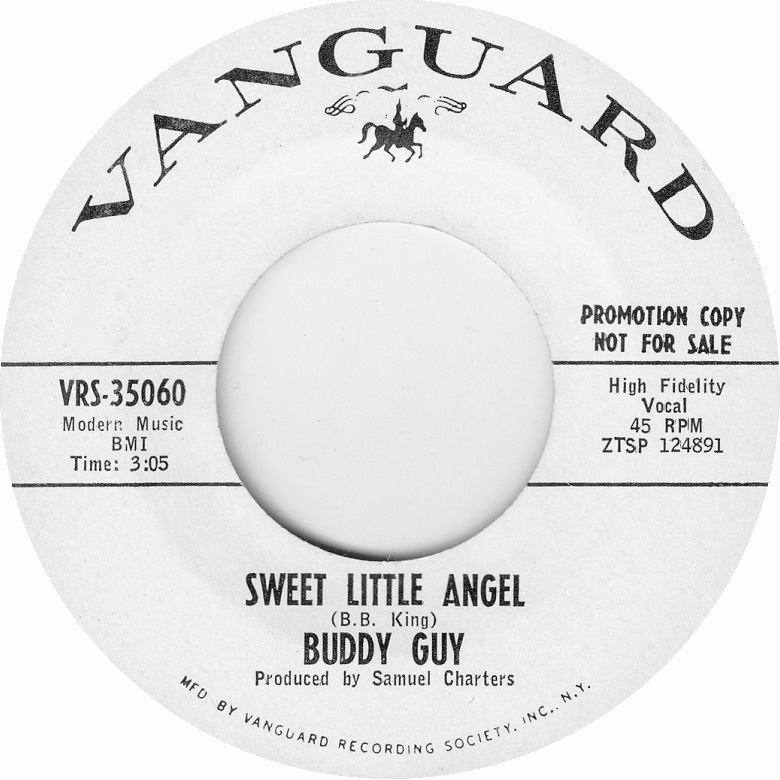 Curtis Knight featuring Jimi Hendrix: Live at George's Club 20 1965 & 1966 (2017) - Page 2 Buddy-guy-sweet-little-angel-vanguard