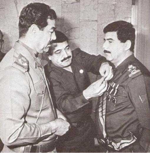 رسالة تعزية ورثاء بذكرى استشهاد اللواء الركن الطيار عدنان خير الله طلفاح وزير الدفاع العراقي Sadam_3adnan01