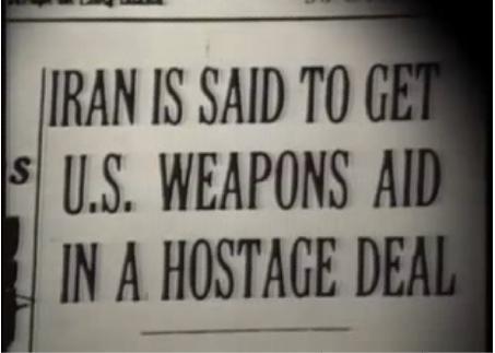 إيران وأمركا وإسرائيل فضيحة نقل الأسلحة والتعاون العسكري Cont18