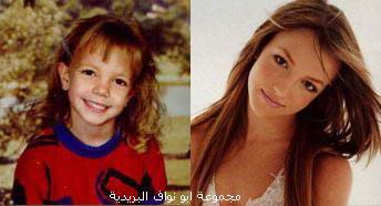 صورهــم (يوم كانو صغار) ويوم صارو مشاهير...لا يفوتكم Britney-Spears