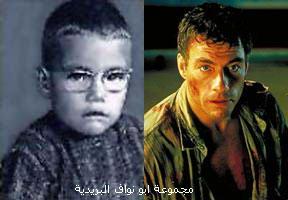صورهــم (يوم كانو صغار) ويوم صارو مشاهير...لا يفوتكم Jean-Claude-Van-Damme