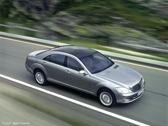 تقرير شامل عن اسطوره مرسيدس الفئةS الجزء1 Mercedes16