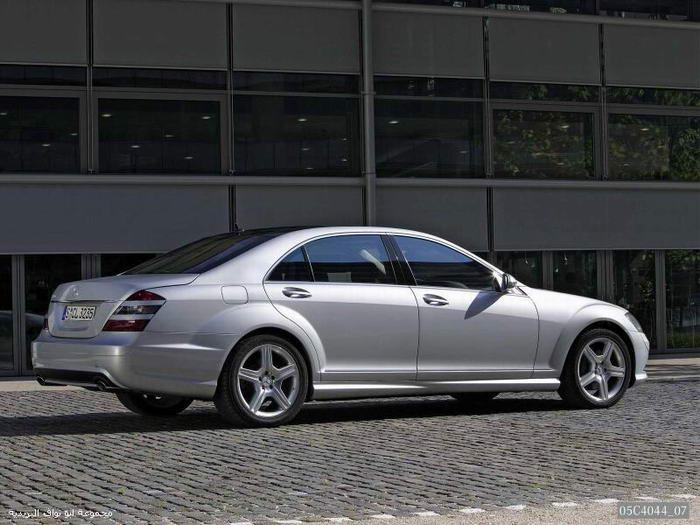 تقرير شامل عن اسطوره مرسيدس الفئةS الجزء1 Mercedes35