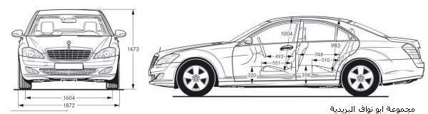 تقرير شامل عن اسطوره مرسيدس الفئةS الجزء1 Mercedes4