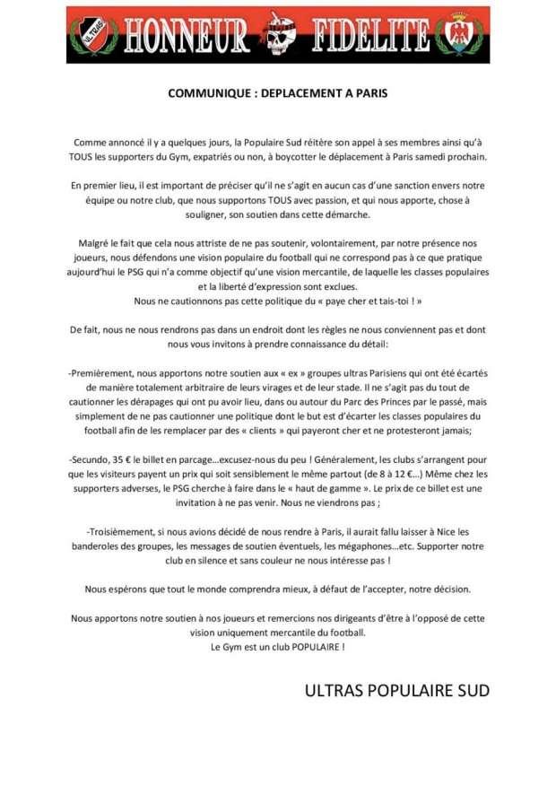 OGC NICE // LIGUE 1 CLUB VILLE ET STADE  Communique-paris-page-001-41f14d1