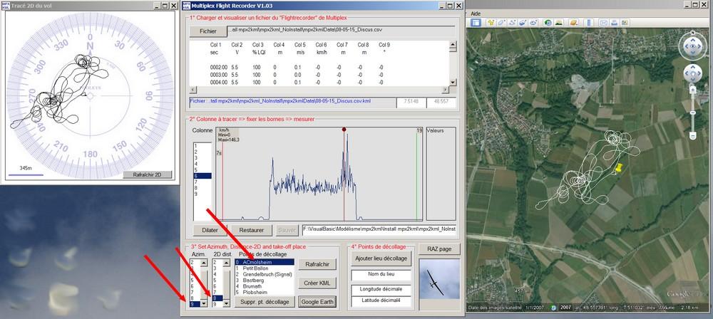 GPS et Google Earth ? Reglage_test