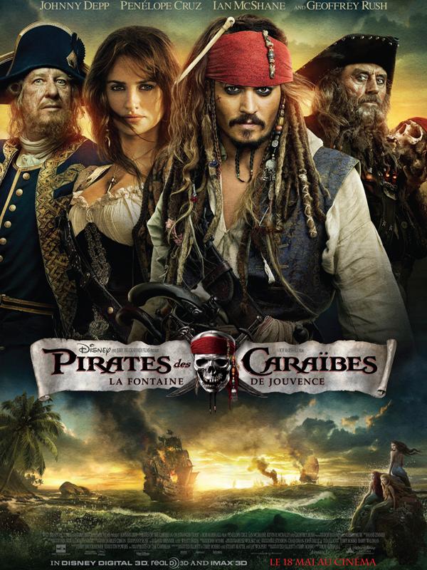 Pirates des Caraïbes : la Fontaine de Jouvence [DF] 19713505