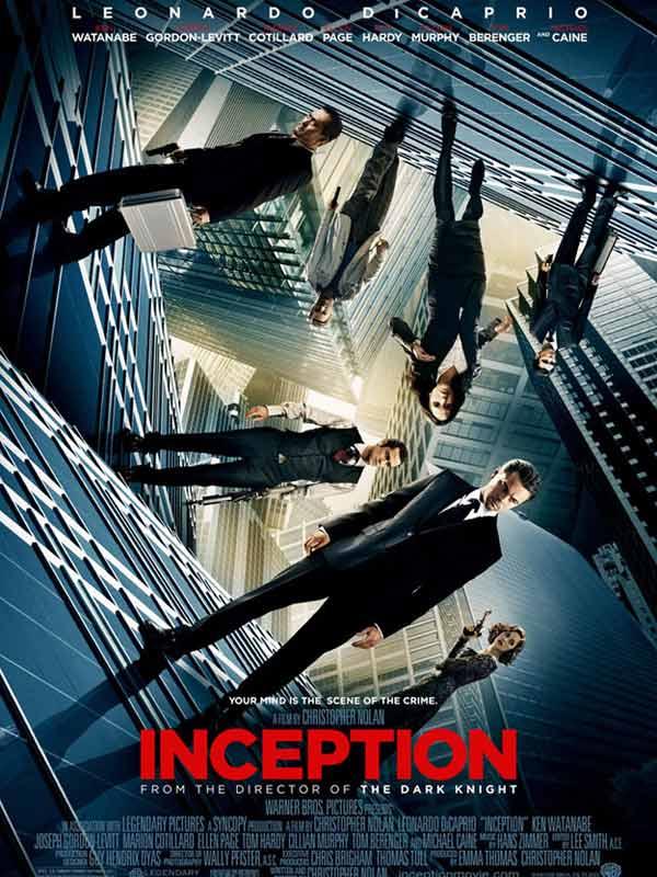 Inception - DiCaprio , Watanabe , Gordon-Lewitt, Cotillard , Page ...  19476652