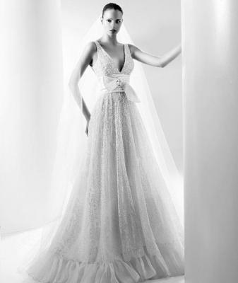 صور فساتين وتسريحات زفاف منوعة 14