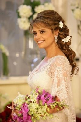 صور فساتين وتسريحات زفاف منوعة 18