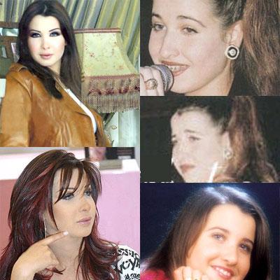 فنانات قبل وبعد التجميل 35