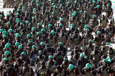صور عرض عسكري لمجاهدين حماااااااااااااس.......غزة 16
