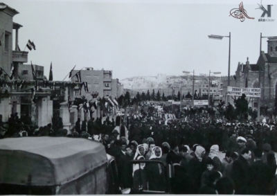 صوراً نادرة للرئيس الراحل جمال عبد الناصر خلال زيارته للمحافظات السورية 19