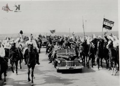 صوراً نادرة للرئيس الراحل جمال عبد الناصر خلال زيارته للمحافظات السورية 4