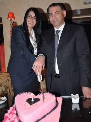 زواج غادة عبد الرازق على الإعلامي محمد فودة بالصور 3909792814