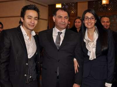 زواج غادة عبد الرازق على الإعلامي محمد فودة بالصور 3909792816