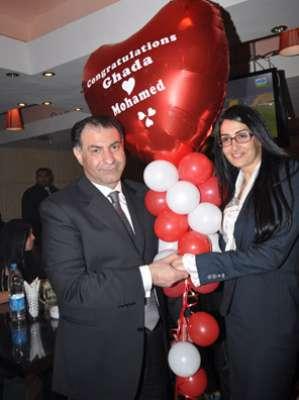 زواج غادة عبد الرازق على الإعلامي محمد فودة بالصور 3909792819