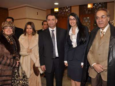 زواج غادة عبد الرازق على الإعلامي محمد فودة بالصور 3909792822