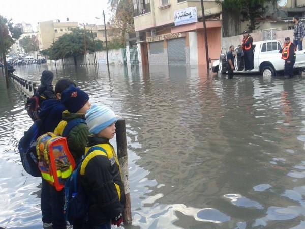 الامطار تغرق البلاد 5-12-2013 3910049288
