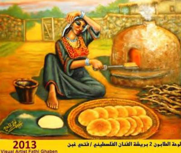 حائز على جوائز عالمية .. أبرز رسام فلسطيني يعيش ظروف صعبة في غزة 3910121488