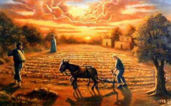 حائز على جوائز عالمية .. أبرز رسام فلسطيني يعيش ظروف صعبة في غزة 3910121489