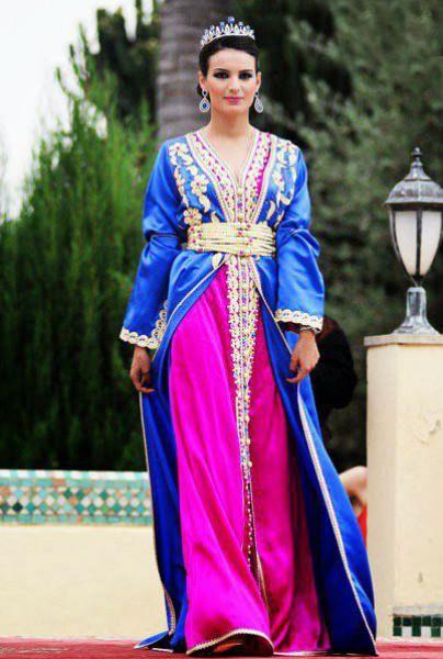 القفطان المغربي بلمسات عصرية 3910126250