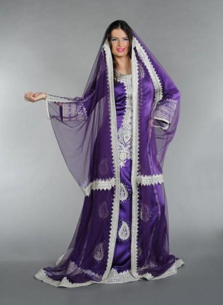 القفطان المغربي بلمسات عصرية 3910126254
