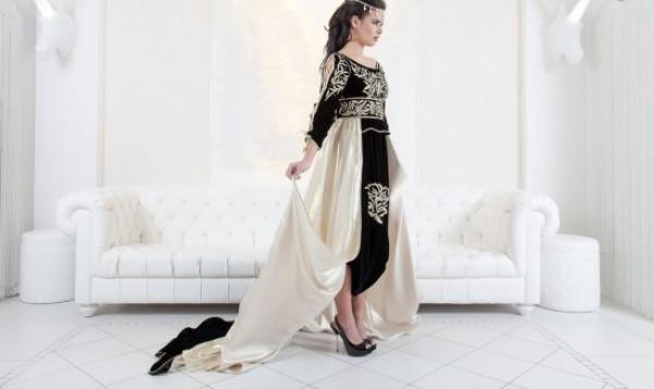القفطان المغربي بلمسات عصرية 3910126260