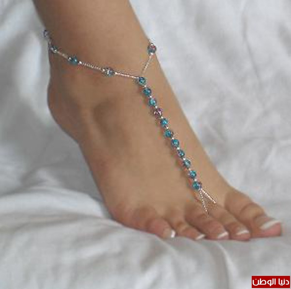 زيني قدميك بالخلخال 3910132079