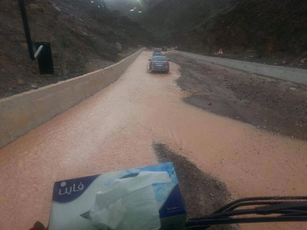 فيضانات سيناء في شهر ايار 2014 3910163984