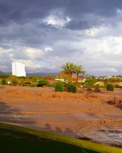 فيضانات سيناء في شهر ايار 2014 3910163986