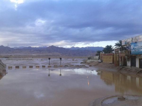 فيضانات سيناء في شهر ايار 2014 3910163989