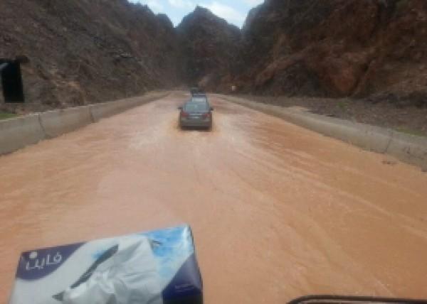 فيضانات سيناء في شهر ايار 2014 3910163990