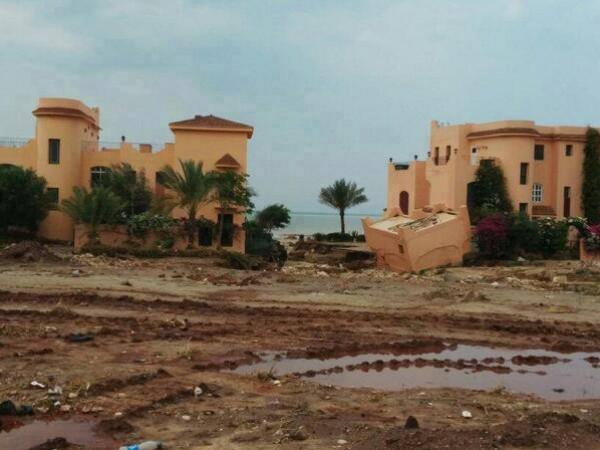 فيضانات سيناء في شهر ايار 2014 3910163991
