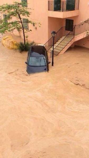 فيضانات سيناء في شهر ايار 2014 3910163992