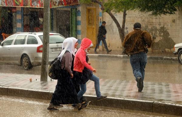 الامطار على قطاع غزة هذا اليوم 4/11/2014 3910277723